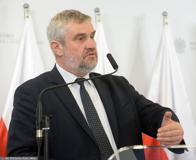 Minister odniósł się również do tzw. taśm Ardanowskiego.