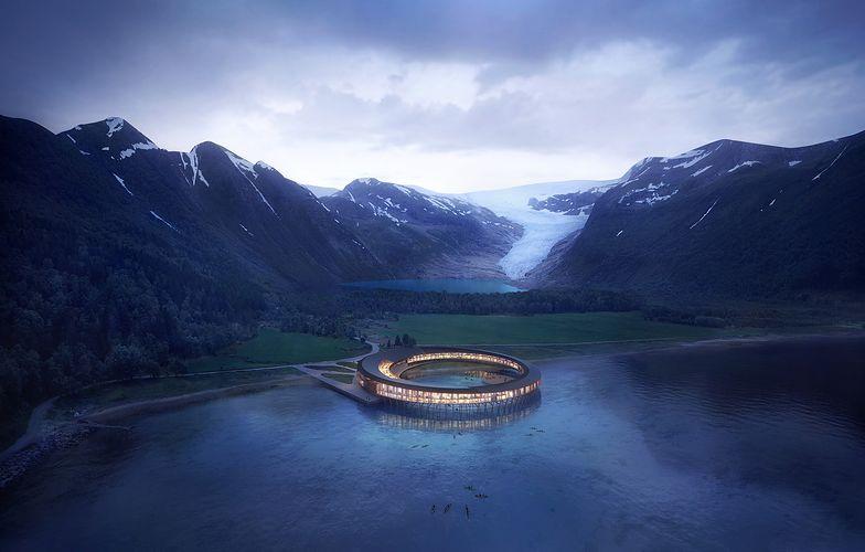 Autorem projektu jest słynne biuro architektoniczne Snøhetta