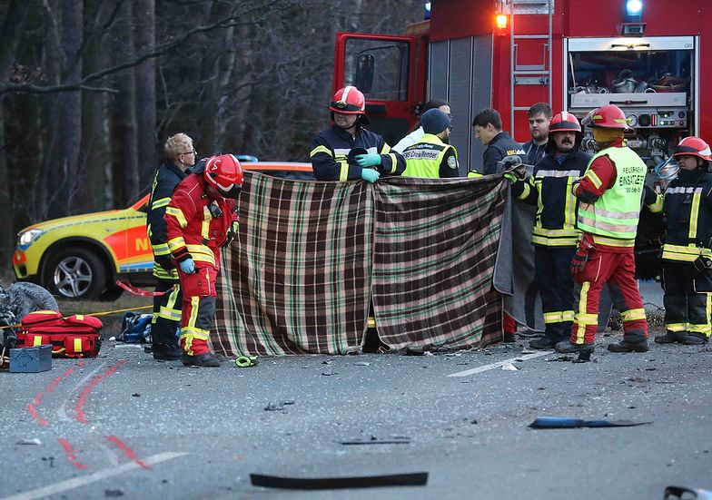 Niemiec potrącił rowerzystę. Sąd skazał go na dożywocie
