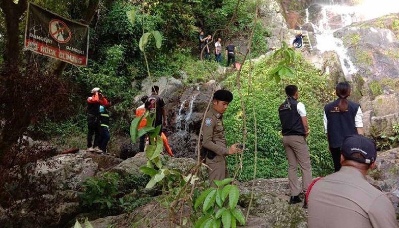 Tragiczna śmierć turysty. Spadł z wodospadu podczas robienia selfie