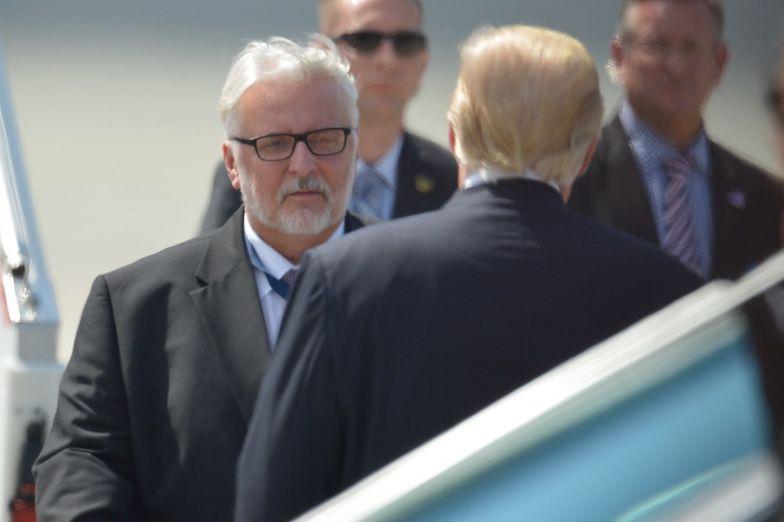 Donald Trump - mimo zabiegów Witolda Waszczykowskiego - nie pomoże Polsce odzyskać wraku tupolewa