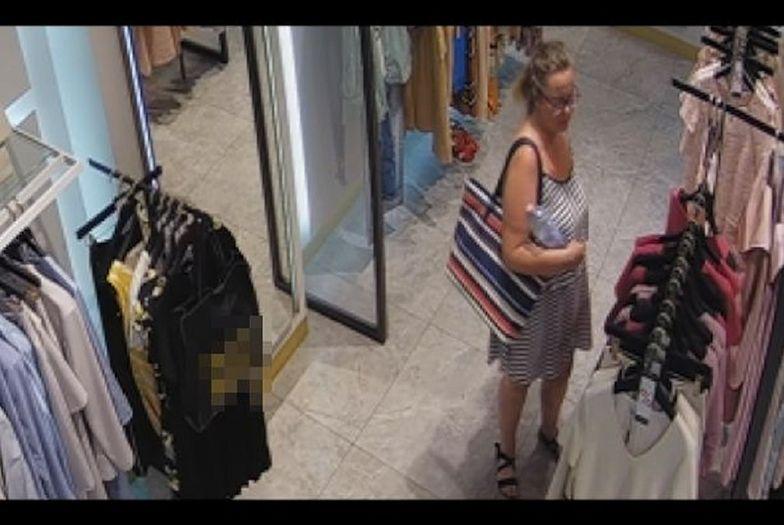 Lublin. Złodziejka w sklepie. Policja pokazała nagranie