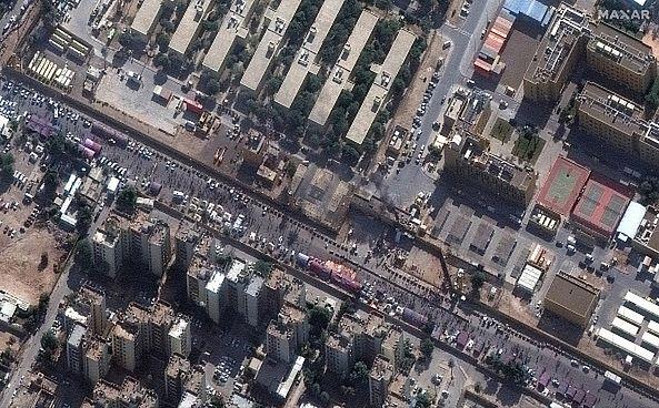 Irak. Wybuch rakiety koło ambasady USA w Bagdadzie. Doszło do serii ataków. Są ranni