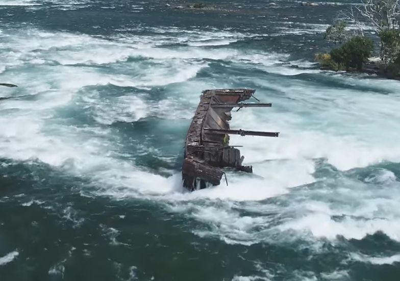 łódź halloween