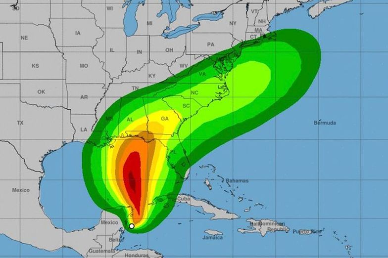Stan nadzwyczajny na Florydzie. Nadchodzi sztorm Michael