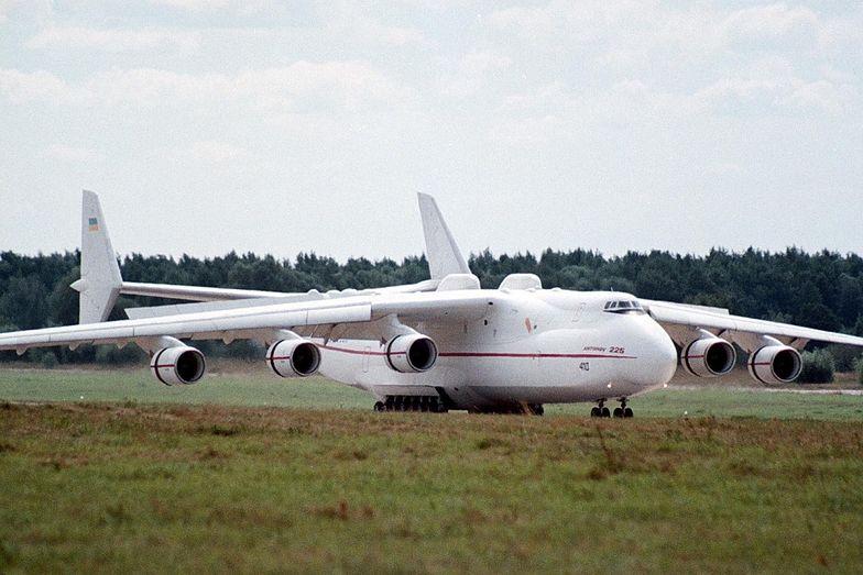 Antonow An-225 Mrija wyląduje w Polsce we wtorek z samego rana.
