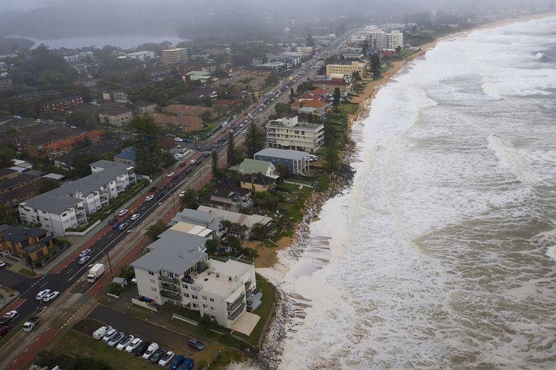 W Sydney woda zalała plaże. Miniony weekend był najbardziej deszczowym w tym mieście od ponad 20 lat.