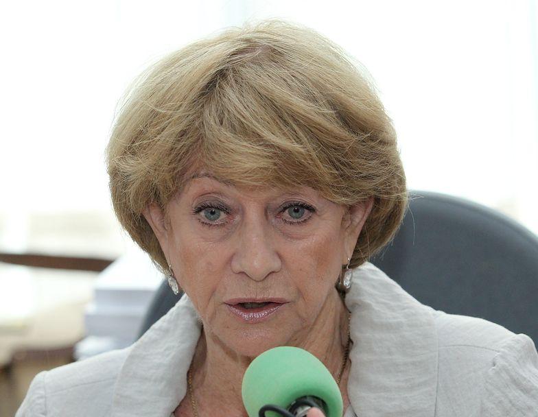 Barbara Borys-Damięcka twierdzi, że naprawiła swoją pomyłkę