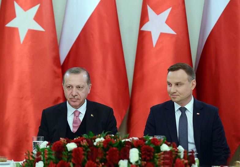 Recep Erdogan i Andrzej Duda
