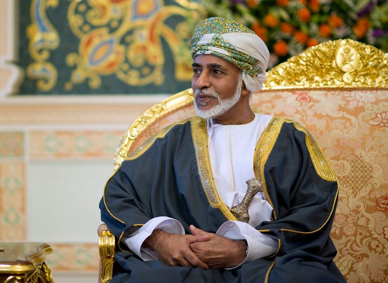Nie żyje sułtan Kabus ibn Sa'id. Rządził Omanem przez 50 lat