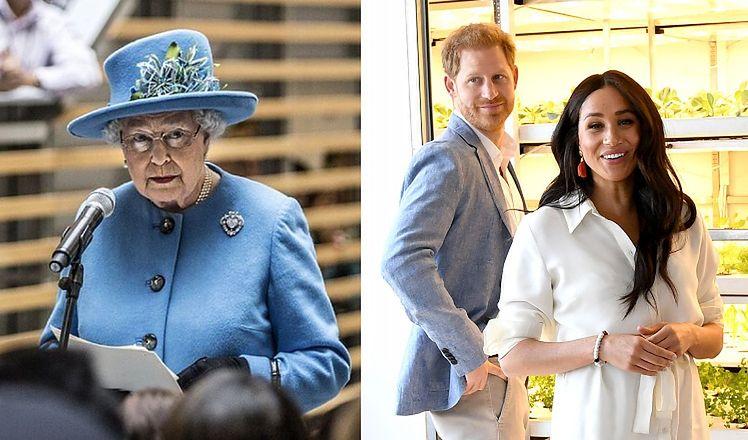 """Królowa Elżbieta wydała oświadczenie o Sussexach: """"Całkowicie wspieramy decyzję Harry'ego i Meghan o zbudowaniu nowego życia"""""""