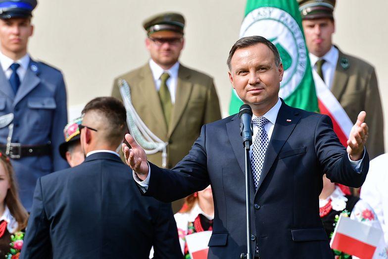 Wizyta prezydenta Andrzeja Dudy w Szczecinku wywołała sporo emocji.