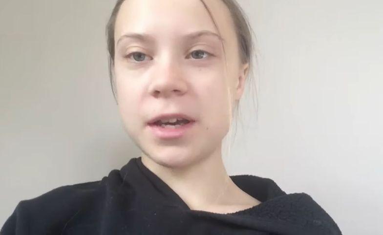 Greta Thunberg wypowiedziała się na temat pandemii koronawirusa