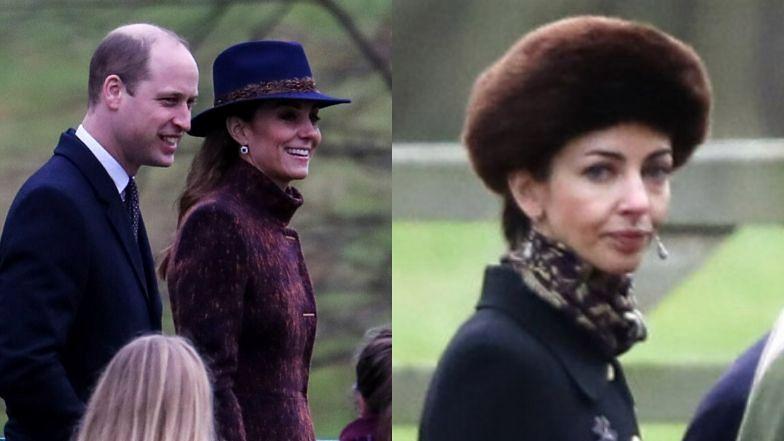 Rose Hunbury i Kate Middleton były na tej samej mszy.