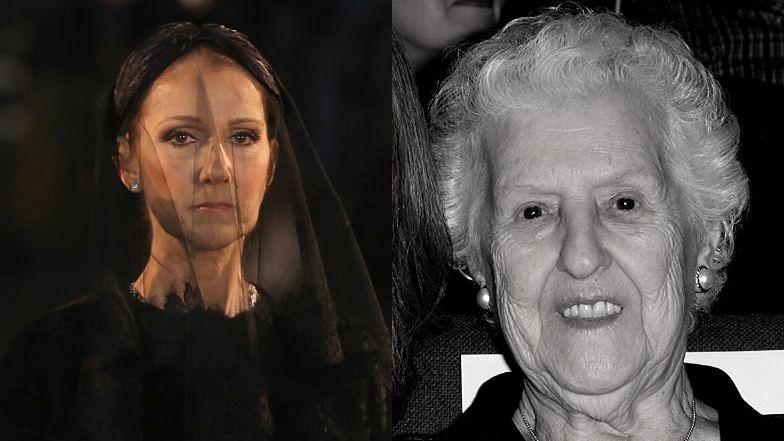 """Nie żyje matka Celine Dion. """"Całe życie poświęciła dobru rodziny"""""""
