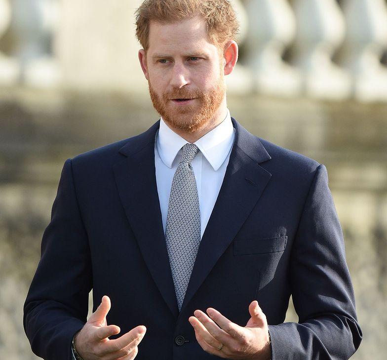 Książę Harry zabrał głos w sprawie Megxitu