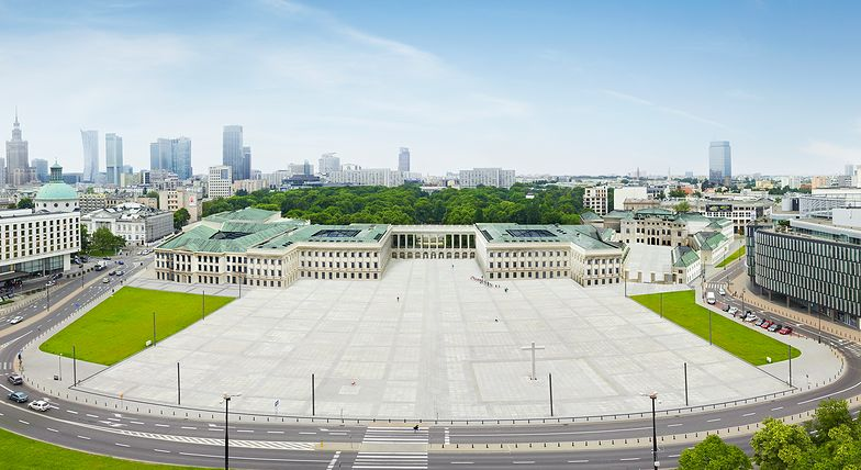 Projekt Pałacu Saskiego