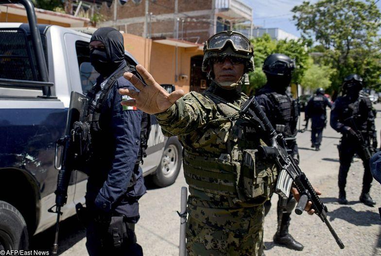 Cała policja w Acapulco podejrzana. Wojsko rozbroiło funkcjonariuszy