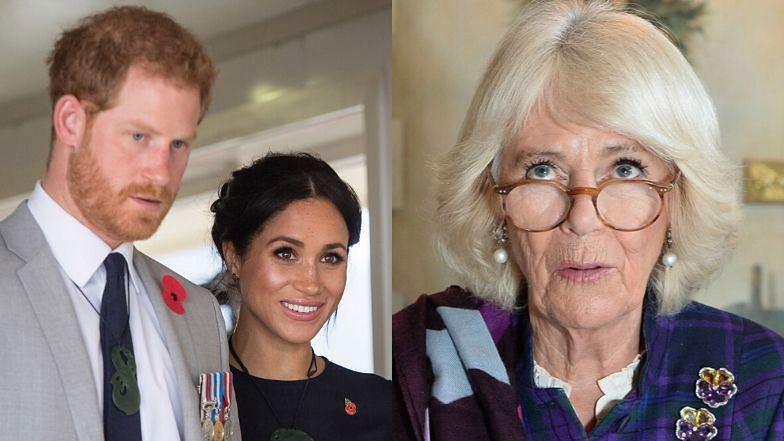 Księżna Camilla zdradziła, czy będzie tęsknić za Meghan i Harrym.