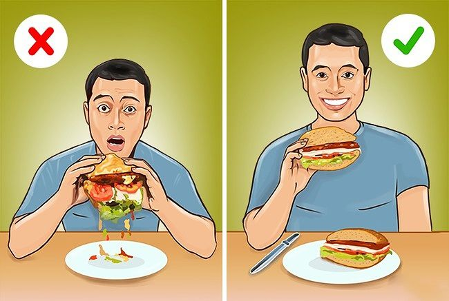 Jak jeść hamburgery?