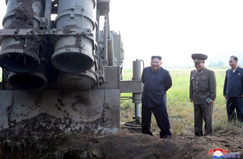 """Korea Północna. """"F-35 zmiótł cacko Kim Dzong Una"""". Film rozwścieczy przywódcę"""