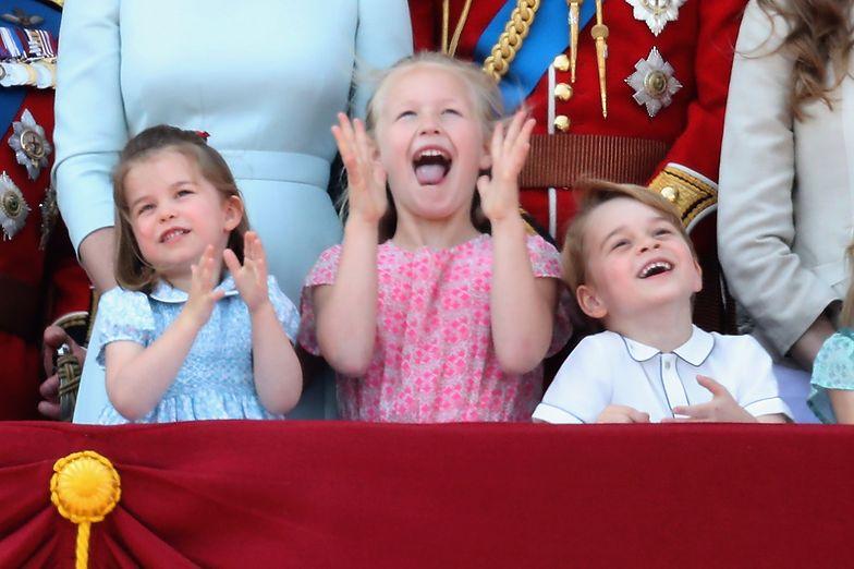 Tak się bawią książęta na urodzinach prababci
