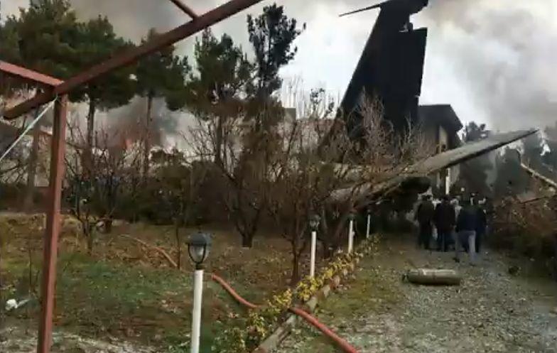 Iran. Katastrofa Boeinga. Rozbił się pod Teheranem