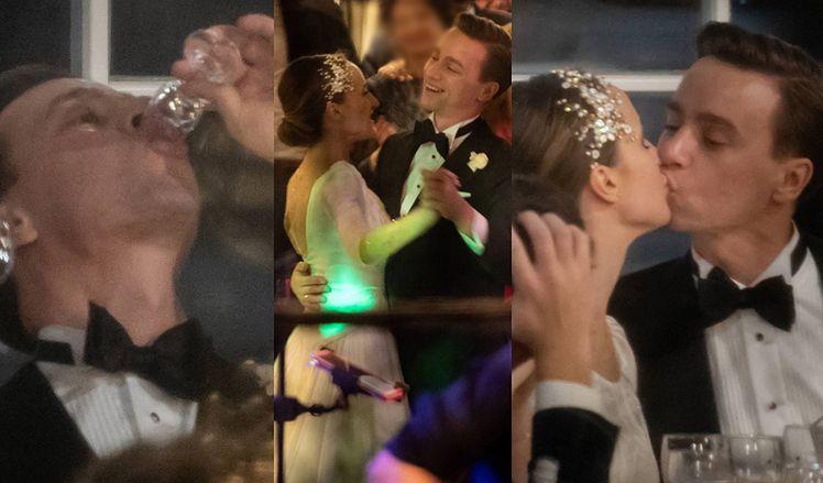 Tak wyglądało wesele Krzysztofa Bosaka: Tańce, toasty, pocałunki przy stole (ZDJĘCIA)