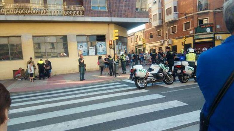 Atak samochodem w Saragossie. Są ranni przechodnie