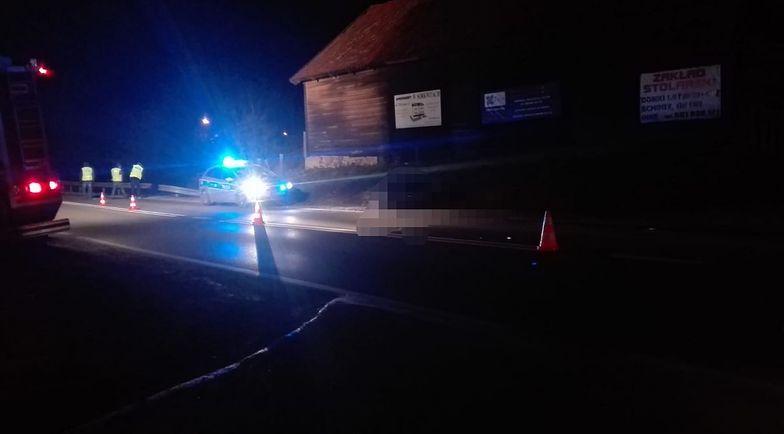 Policja poszukuje sprawcy wypadku, który miał miejsce na drodze krajowej nr 16 na trasie Bagienice - Sorkwity