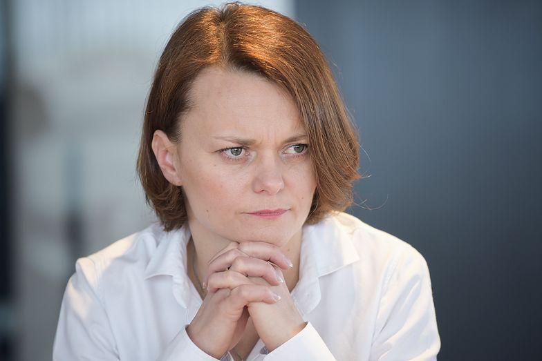 Jadwiga Emiliewicz zajęła się łataniem jednego z pomysłów z piątki Kaczyńskiego.