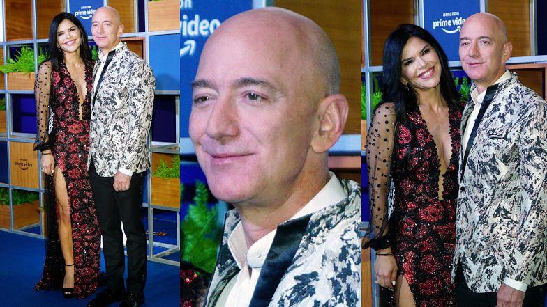 Kochanka Jeffa Bezosa debiutuje na ściance Amazona jako jego OFICJALNA PARTNERKA. Warto było rozbić dla niej rodzinę? (FOTO)