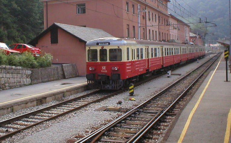 Pociąg w słowenii