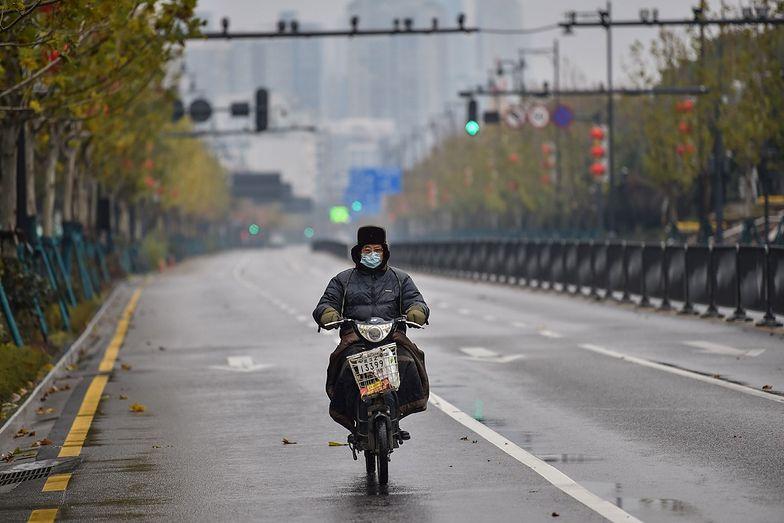 Puste ulice Wuhan