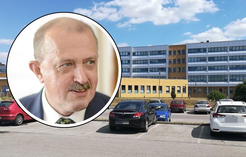 Piotr Kagankiewicz jest dyrektorem szpitala w Radomsku