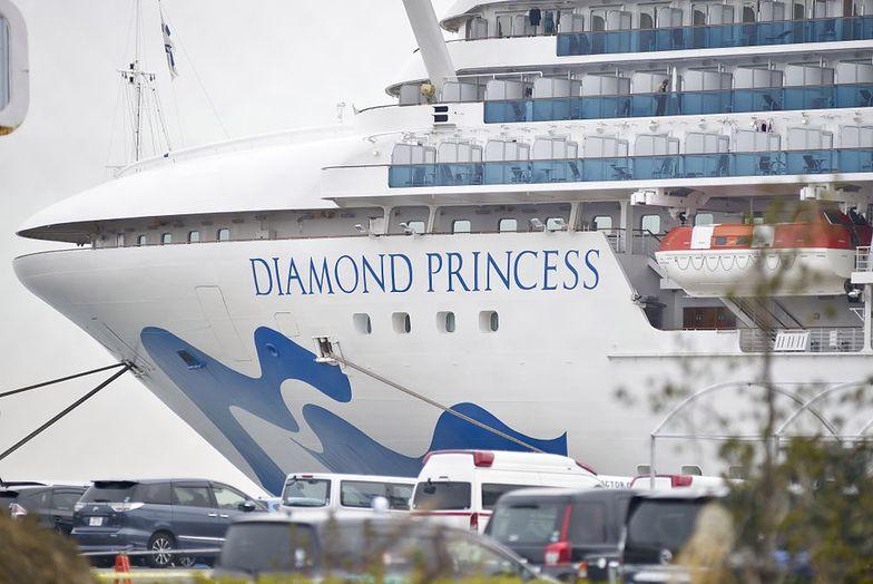 Koronawirus. Nie żyje kolejny pasażer statku Diamond Princess