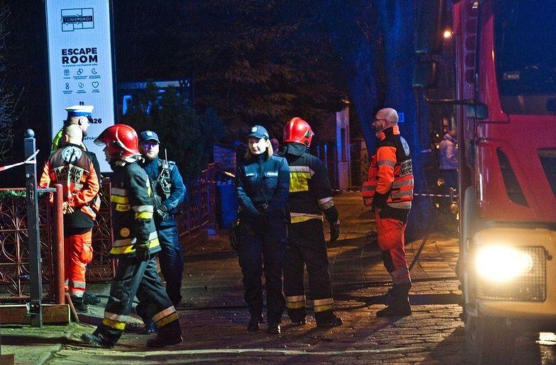 """Strażacy o pożarze w Koszalinie. """"Języki ognia wychodziły na zewnątrz"""""""