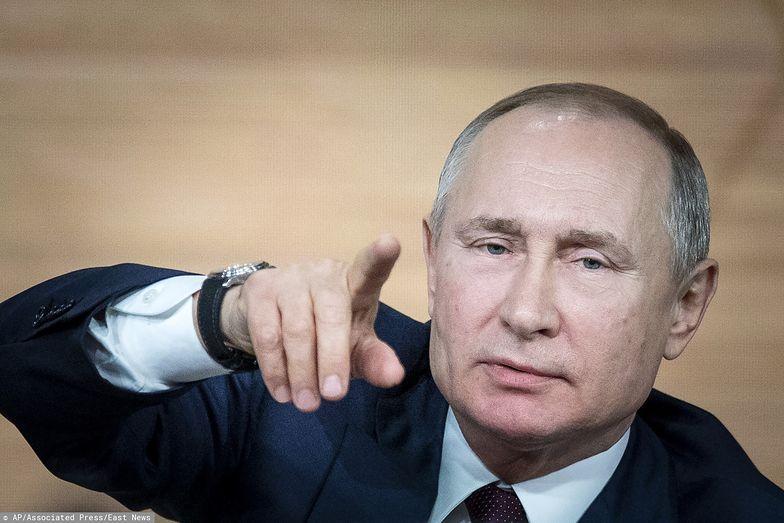 Dziennikarka zadała Putinowi pytanie. Straciła pracę