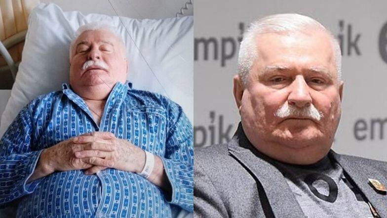 Lech Wałęsa trafił do szpitala.