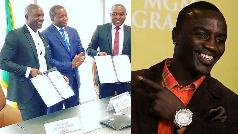 Akon buduje WŁASNE MIASTO! W Akon City będzie można płacić jedynie… akoinami