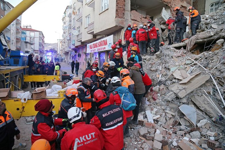 Nikt nie spodziewał się trzęsienia ziemi