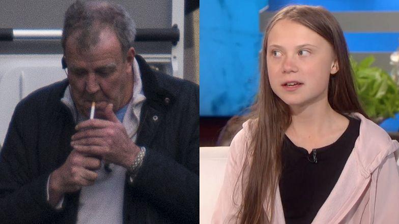 """Jeremy Clarkson dzieli się refleksją na temat Grety Thunberg: """"Ta IDIOTKA zabija motoryzację!"""""""