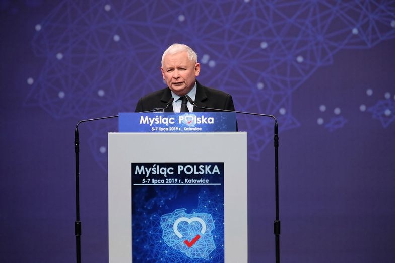 Prezes Jarosław Kaczyński zakończył trzydniową konwencję PiS.