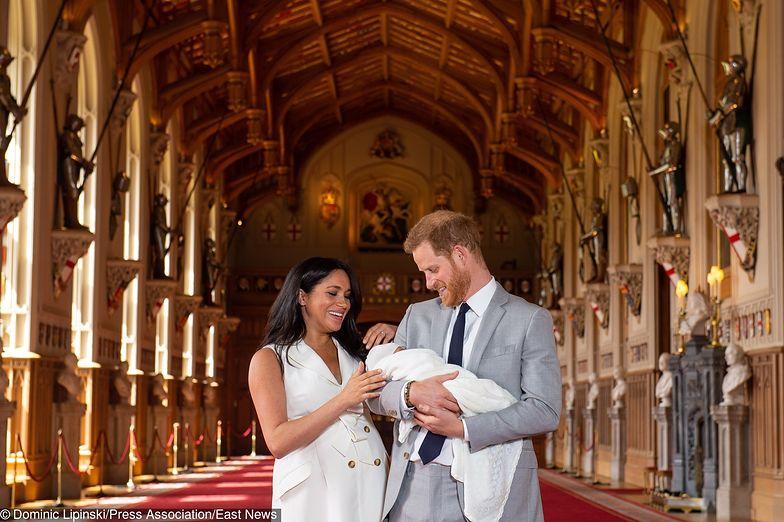 Księżna Meghan i książę Harry pokazali syna