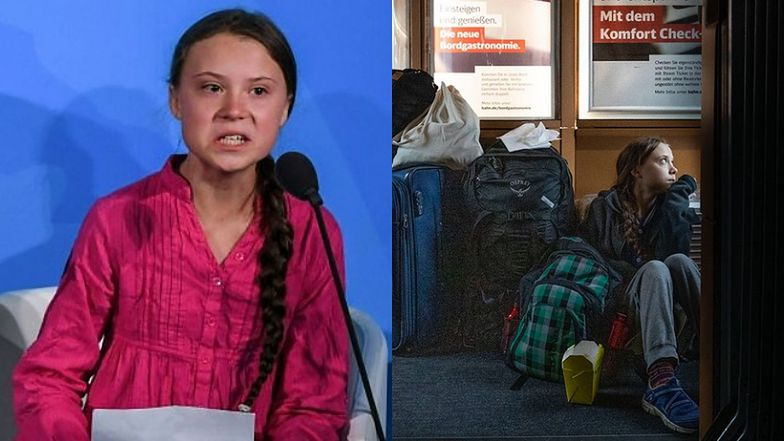 Greta Thunberg narzeka na zatłoczone pociągi. Niemieckie koleje odpowiadają i zarzucają jej KŁAMSTWO