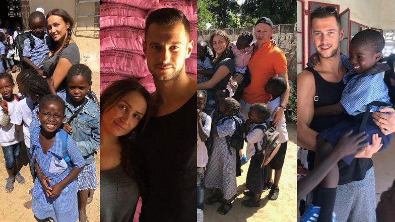 """Mikołaj i Sylwia z """"Love Island"""" wyruszyli do Gambii na misję charytatywną: """"Nie byłem na to gotowy. Niektóre rzeczy nie nadają się do nagrywania"""" (ZDJĘCIA)"""