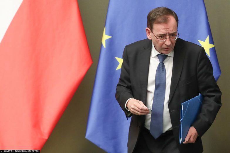 Mariusz Kamiński w Sejmie, styczeń 2020 r.
