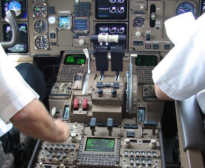 samolot londyn