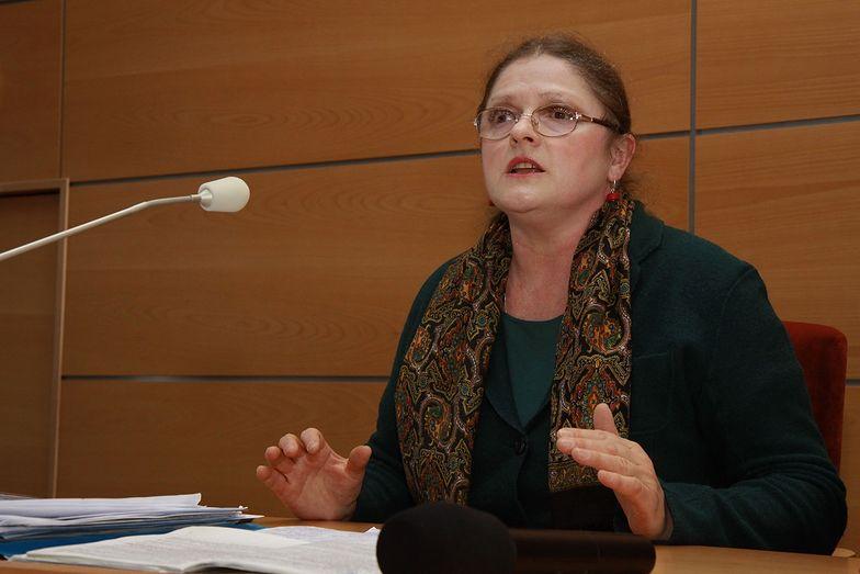 Krystyna Pawłowicz krytykowała pomysł głosowania korespondencyjnego w 2013 roku.
