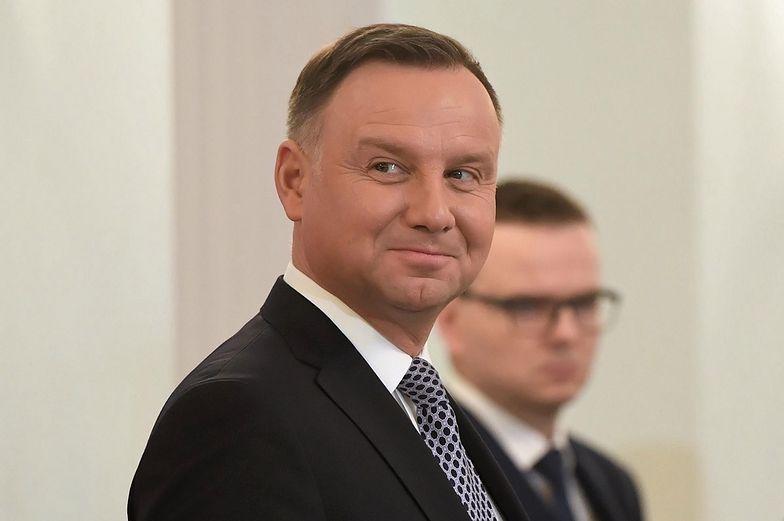 Andrzej Duda wygłosił orędzie noworoczne. Ekspert wytknął poważną gafę